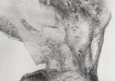 Pascale Simonet | Grands formats et détails | Ceux qui passent (cover)