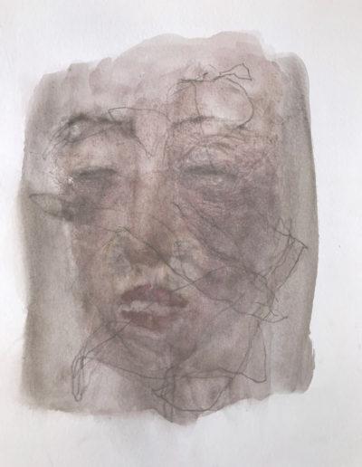 Pascale Simonet | Dessins | À visages découverts