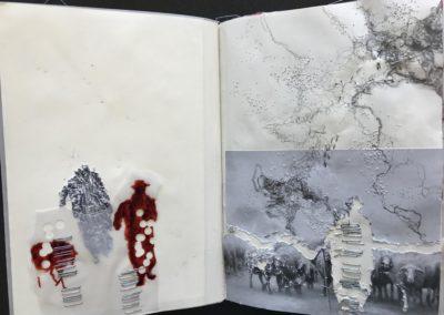 Pascale Simonet | Petits carnets | Au fil des jours